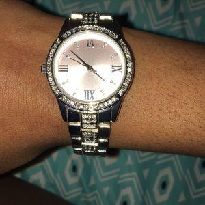 Jewelry - A Silver Wrist Watch